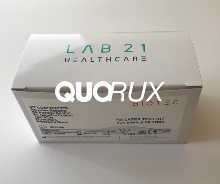 RA Latex test kit 2/7 57